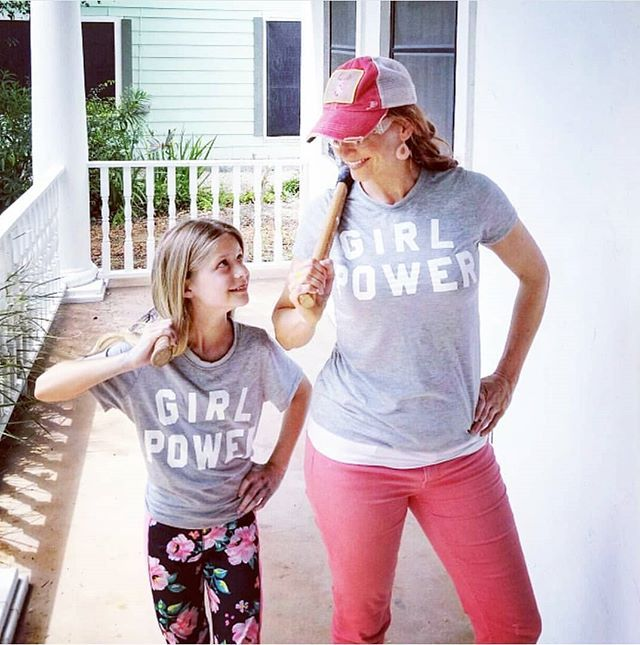What's your GIRL POWER?? As a parent empowering our children with useful skills and knowledge is high on the priorty list for Joe and I. Especially for our girls... being an example of strength ambition courage and kindness are my number one goals as a mother.  And there is just something about a girl and tools that get me fired up!! #girlpower. . . #teach #littlehands #creatingtogether #parenting #teach #littlehands #learning #learningnewskills #leadbyexample #inspire #workhard…