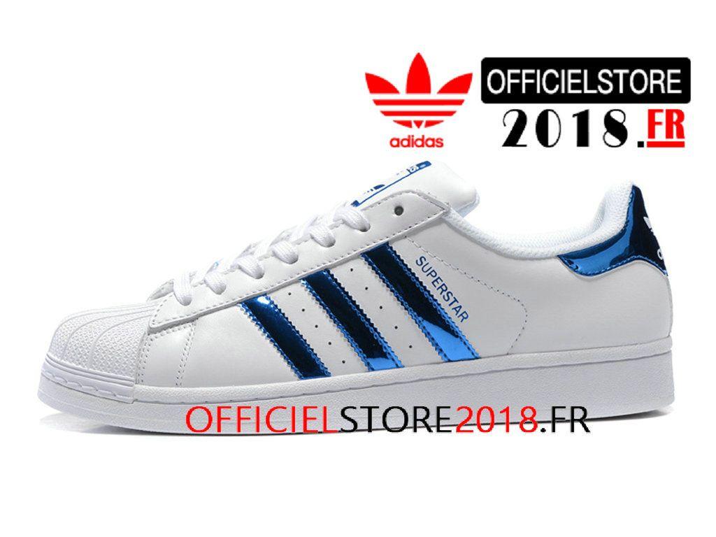 adidas bleu superstar