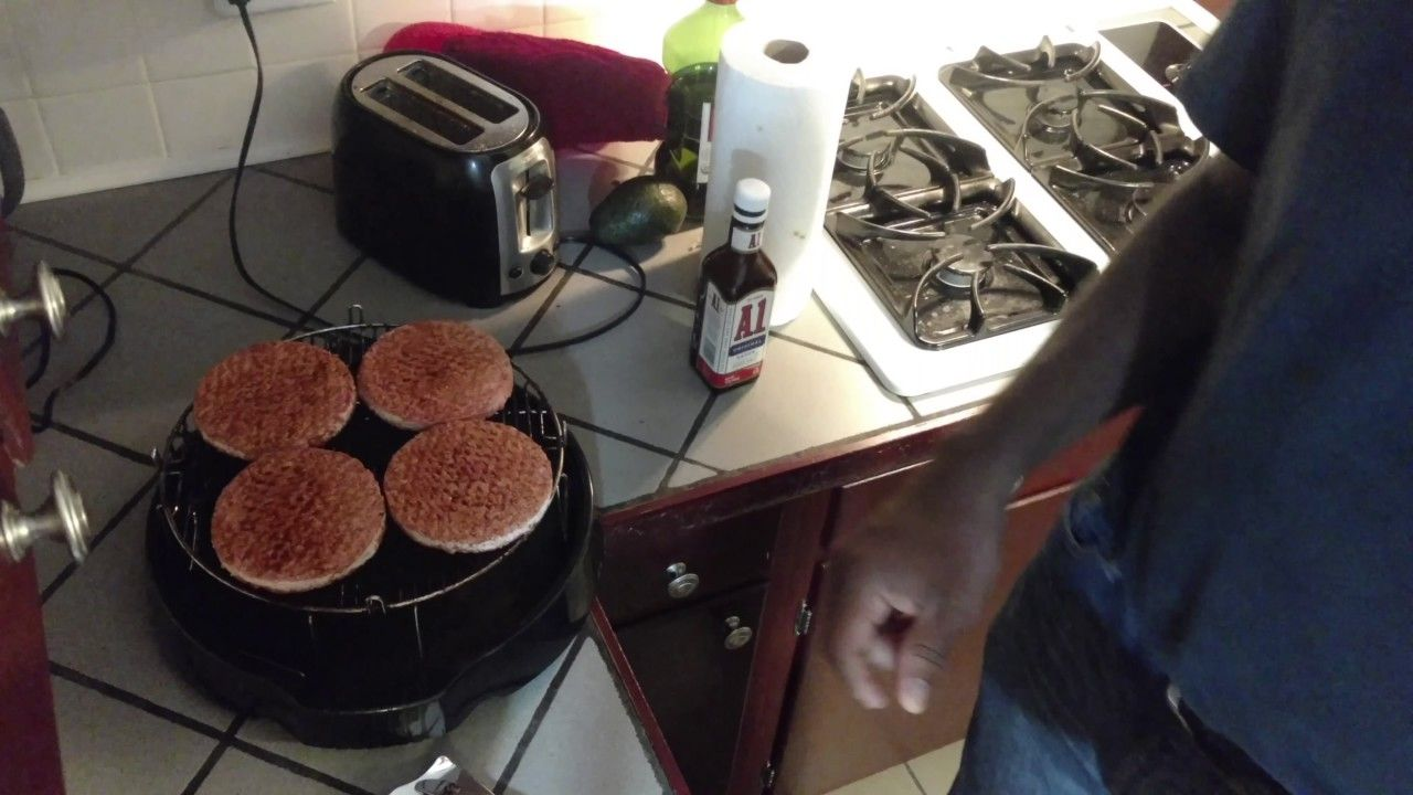 Hamburger from frozen in nuwave oven recipe hamburger