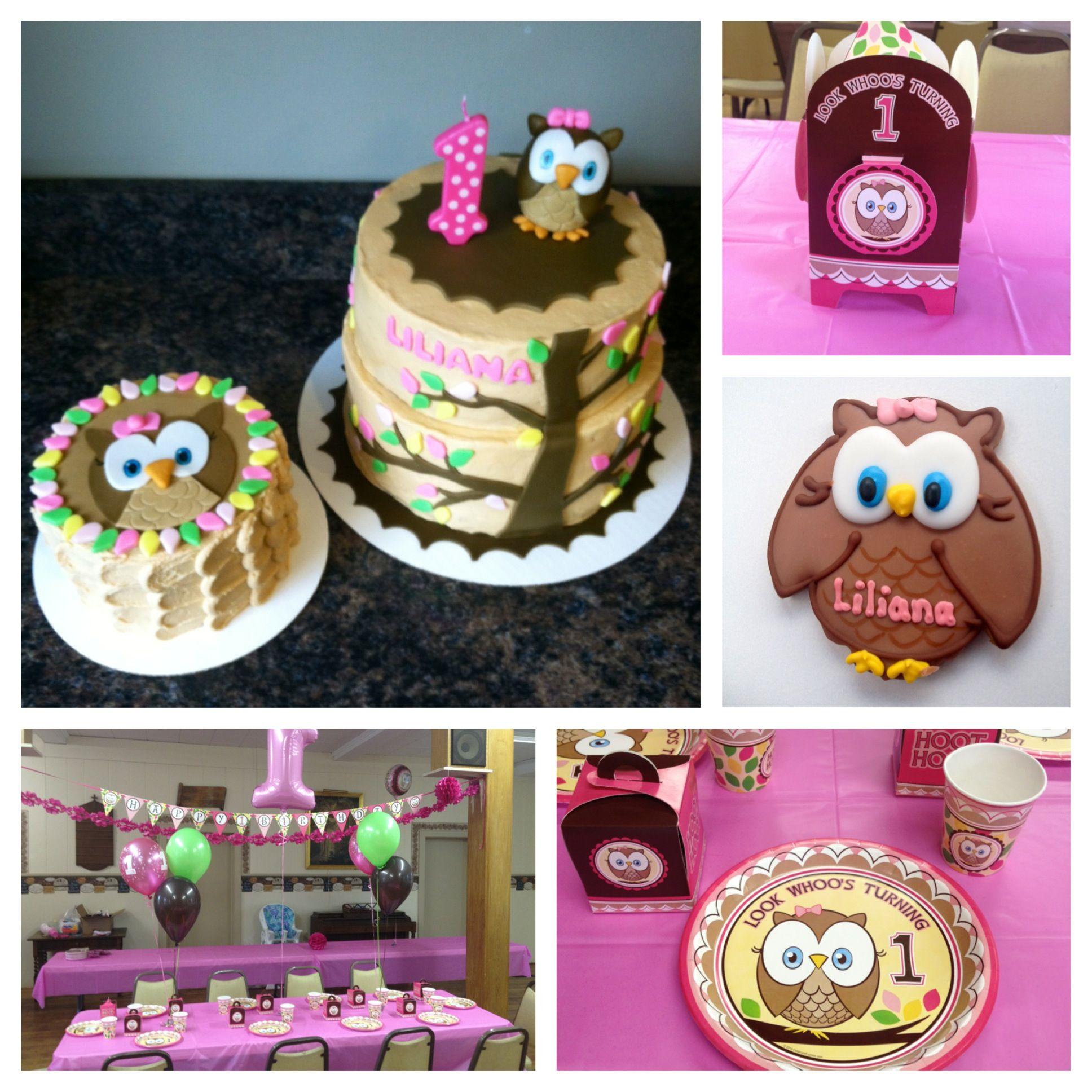 Owl Birthday Theme