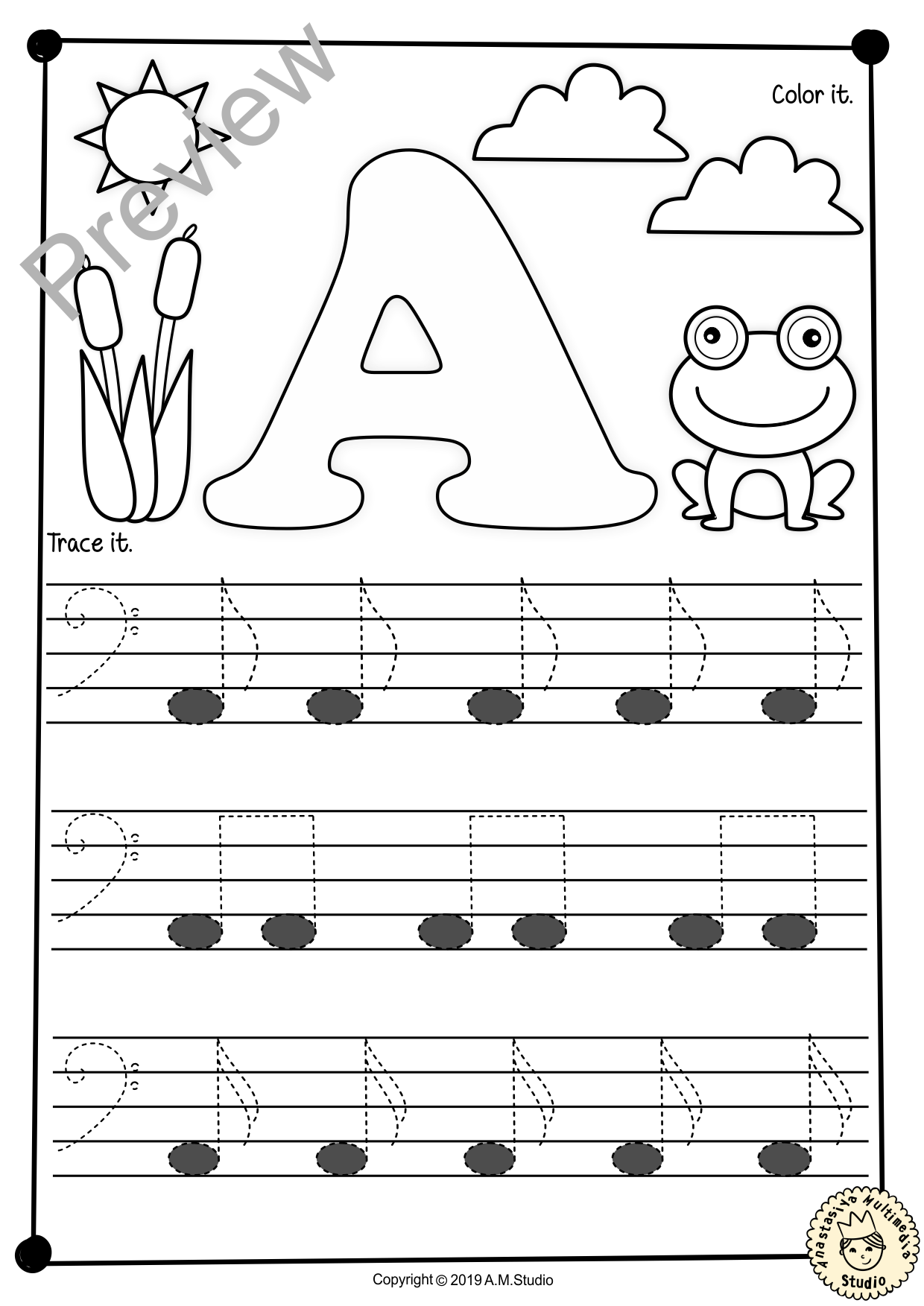 Bass Clef Tracing Music Notes Worksheets For Spring Com