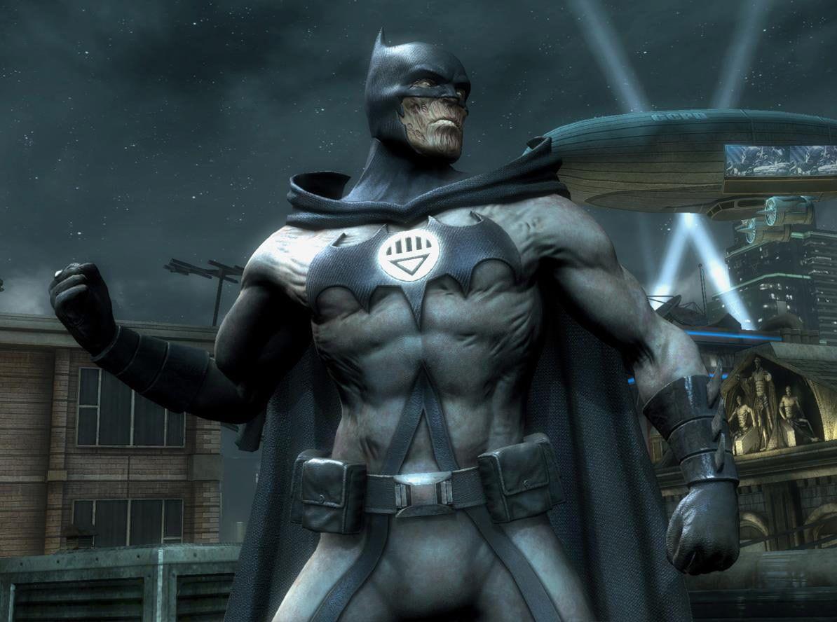 Injustice Gods Among Us alternate Batman   Batman, Evil