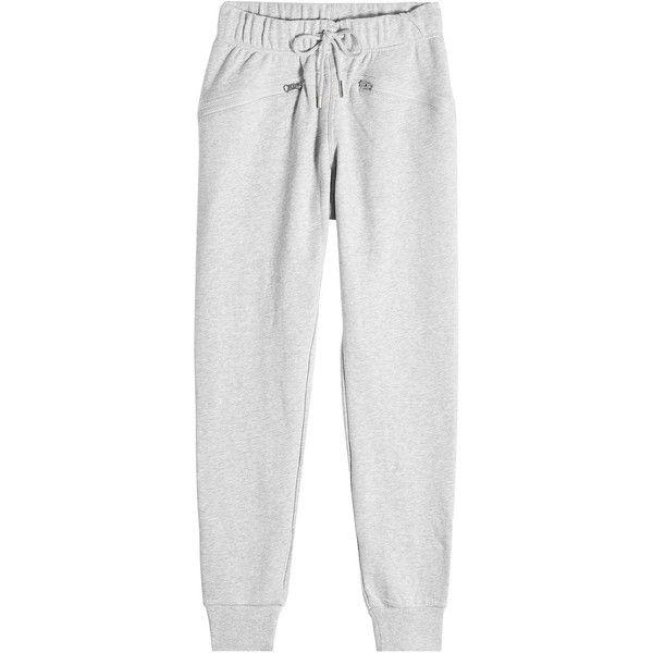 Adidas by Stella McCartney Cotton Sweatpants ($96) ❤ liked