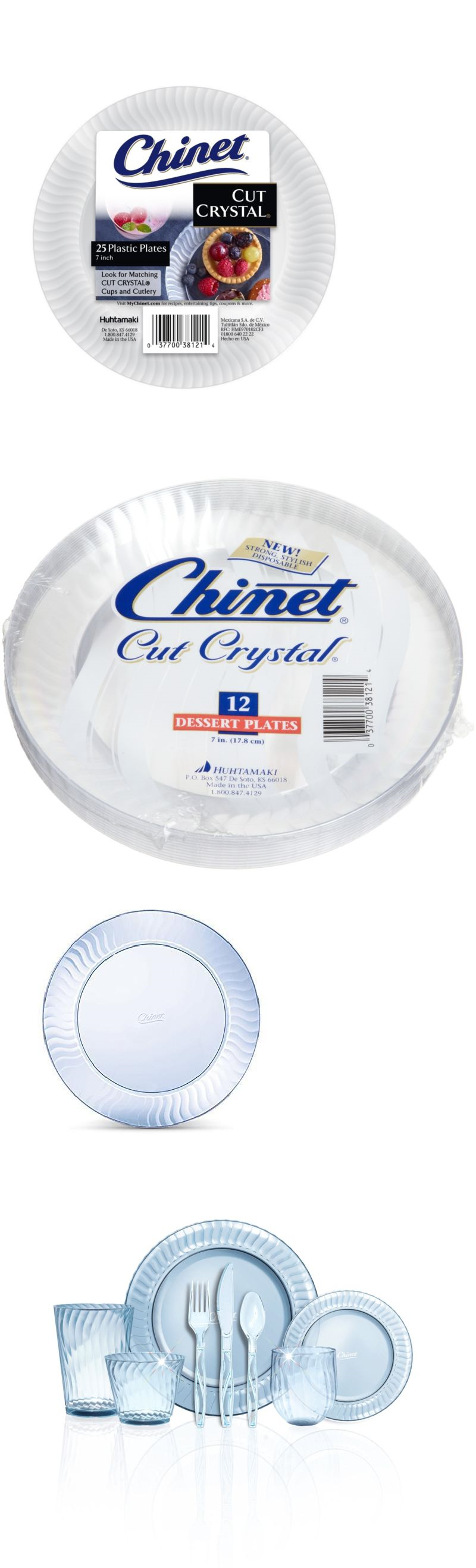 Captivating Chinet Cut Crystal Plates 7 Inch Pictures - Best Image ...