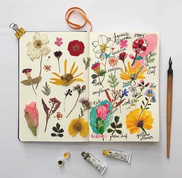 25+ Easy Art Journal Ideas that will Inspire You to Fill in Your Blank Pages