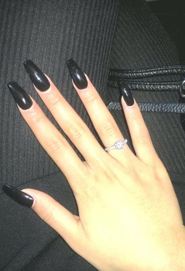 9 Acrylic Nails Ballerina Shape A Self Made Brand Built On Bringing Our First Clothing Loves To Everyone Acrylic Nail Shapes Black Acrylic Nails Acrylic Nails