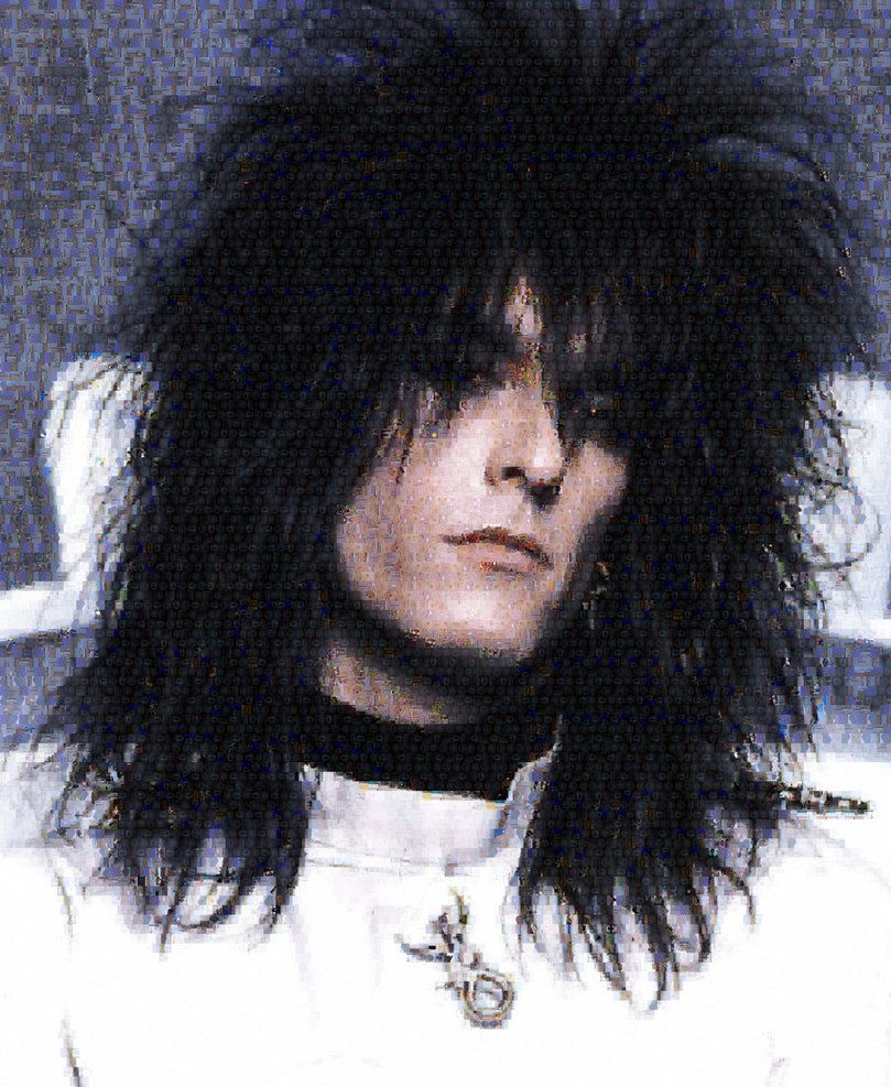 Nikki Sixx | Photo Mosaic by Kelley Frost [©2011-2016 whendt]