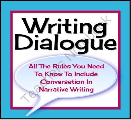 using dialogue in narrative writing