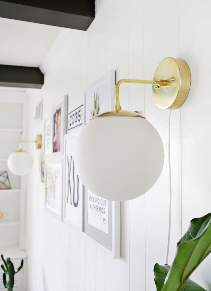 16 Brilliant Lighting Ideas You Can Diy On A Dime Sconces Living