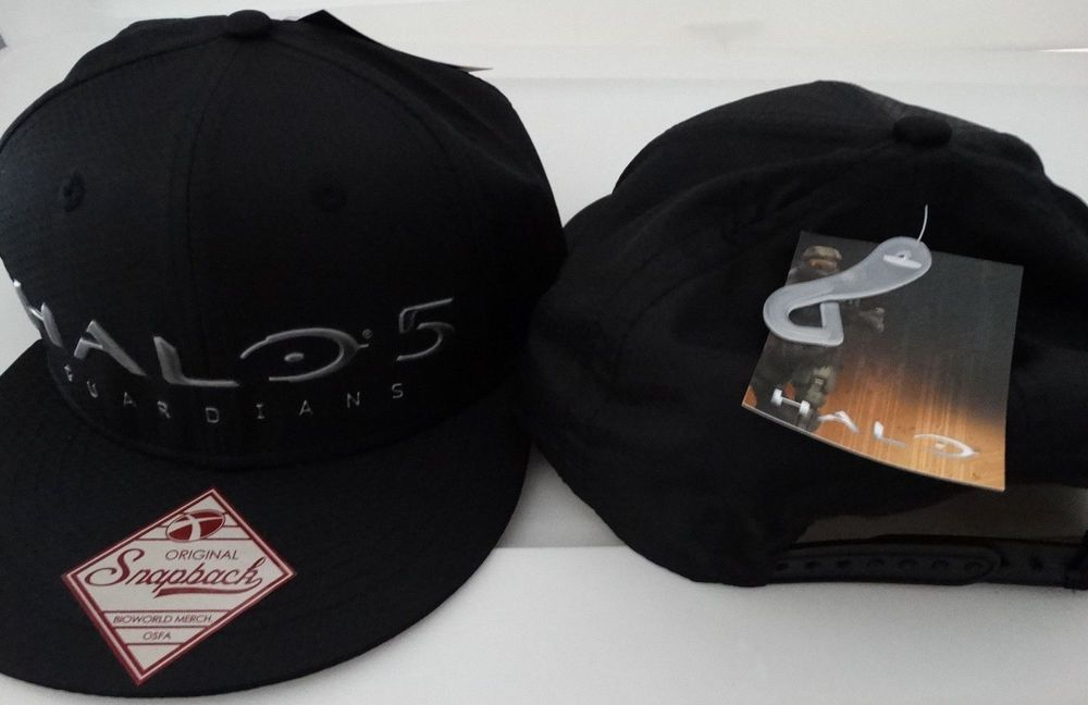 Halo 5 UNSC Guardians Lenticular Logo Honeycomb Flatbill XBox Snap Back Hat  Nwt  Halo  BaseballCap b1245c04cef5