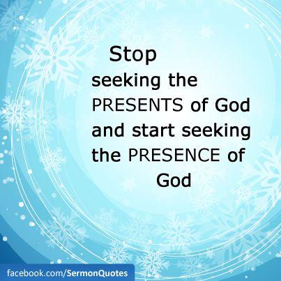 Image result for picture seek God's presence