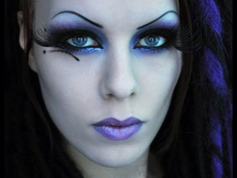 Gothic fairy makeup look tutorial. Vlogger is Delyria. On ... Gothic Fairy Makeup Designs