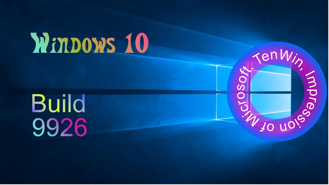 Windows 10 Build 9926 Handwriting recognition, Windows