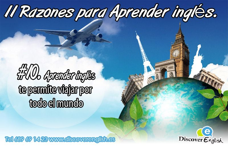 11 Razones para aprender ingles, #10 puedes viajar por todo el mundo sin problemas de confusión de parada, vuelo o terminal