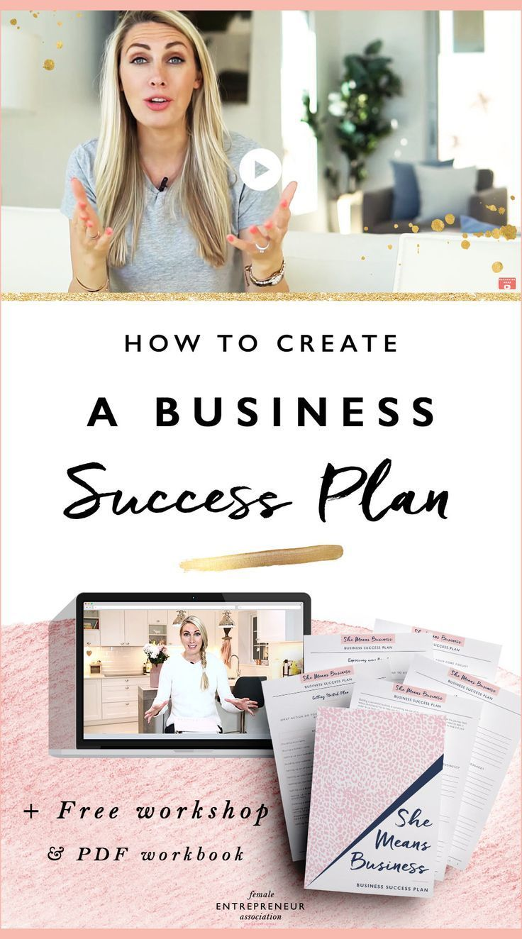How to Create A Business Success Plan + Free