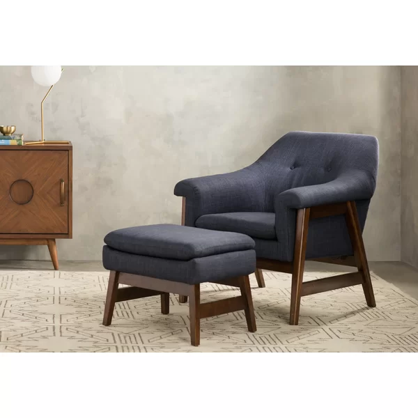 brand new 493b9 03ae2 Wilber Lounge Chair and Ottoman | Living Room in 2019 ...