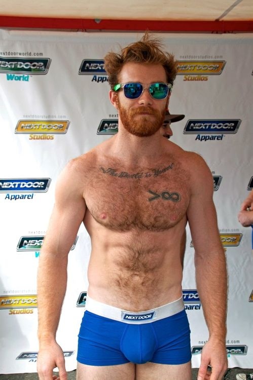 DELIA: Panty hairy redhead