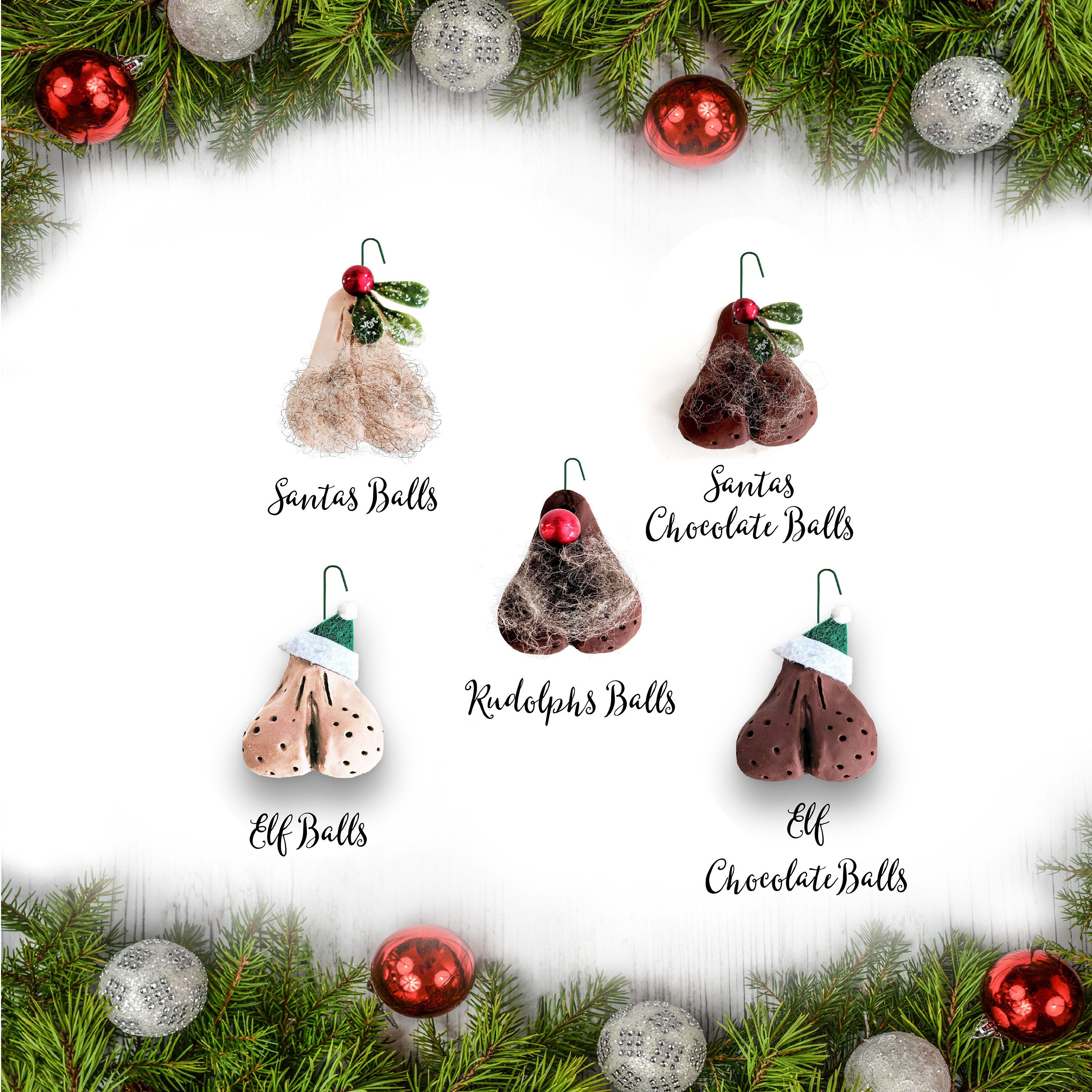Best Seller Give A Little Bit Of Naughty This Christmas To Your Best Friend Or As Funny Christmas Ornaments Christmas Gifts For Coworkers Christmas Ornaments