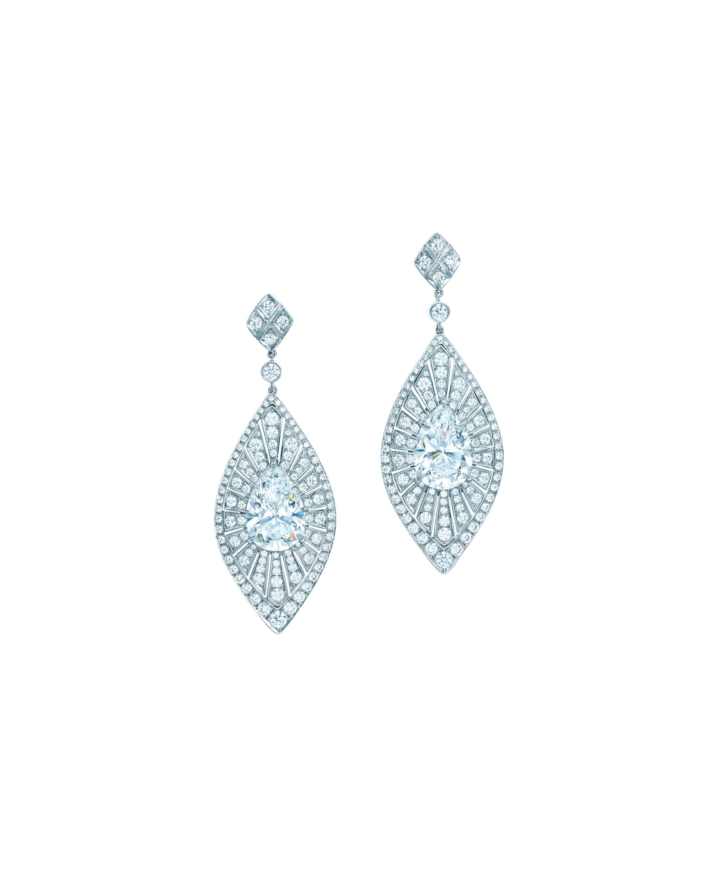tsavorites of shaped jewelry with pear diamonds tsavorite drop and statement square diamond tiffany high earrings colors