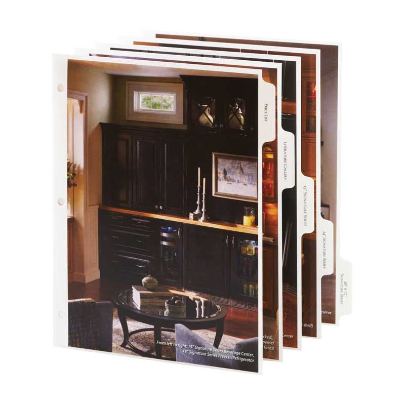 corporate image custom designs and builds beautiful binders folders tab dividers and boxes to fit your needs