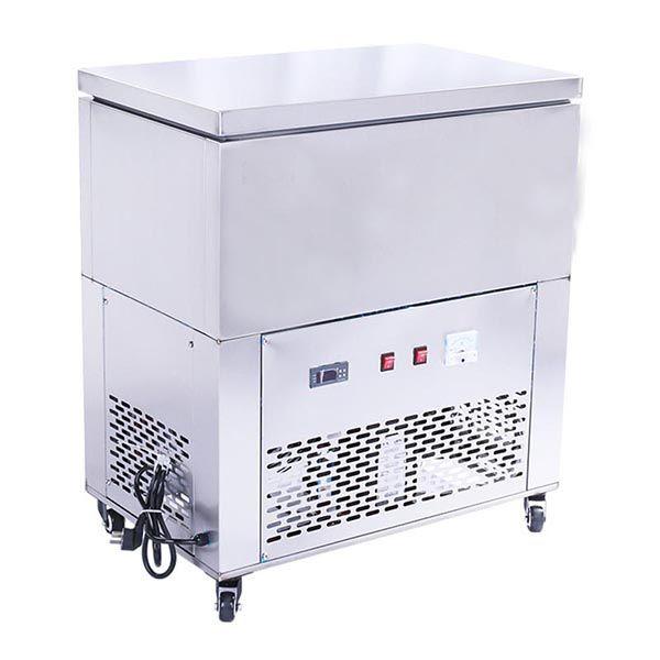 6 Barrel Snow Ice Block Machine Mobile Food Cart Food Cart Wrapping Machine
