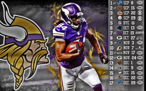 Vikings Football Schedule 2013