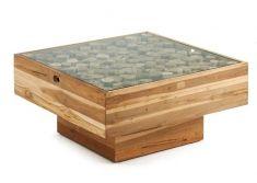 Mesa de centro en madera de Teca : Modelo FRIDA