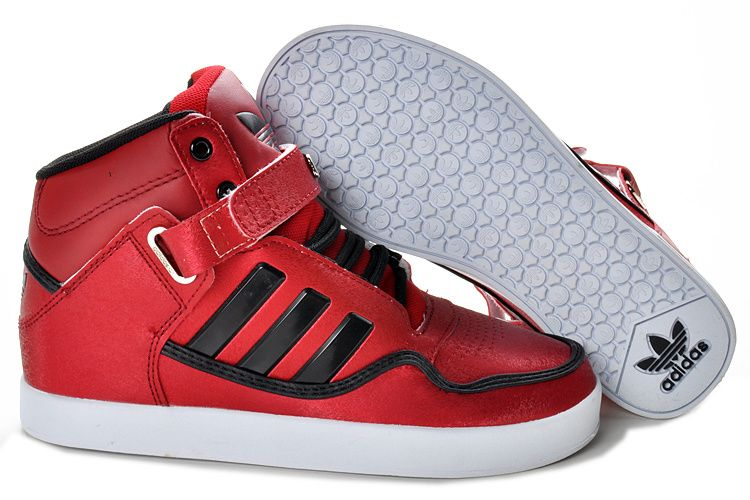 Adidas US Women Adicolor Shoes White Red Specials Limit Offer
