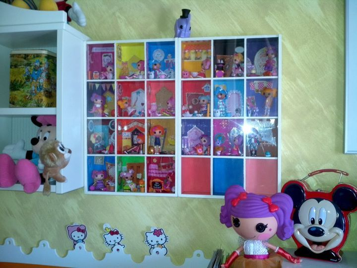 Amazing Lalaloopsy Storage   Large Tea Storage Boxes That Have Been Decorated. Cool  Idea