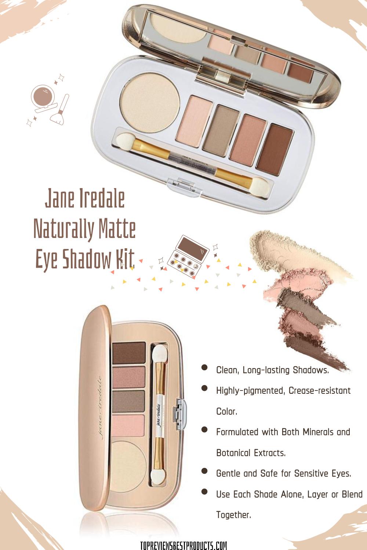 Jane Iredale Naturally Matte Eye Shadow Kit in 2020 Jane