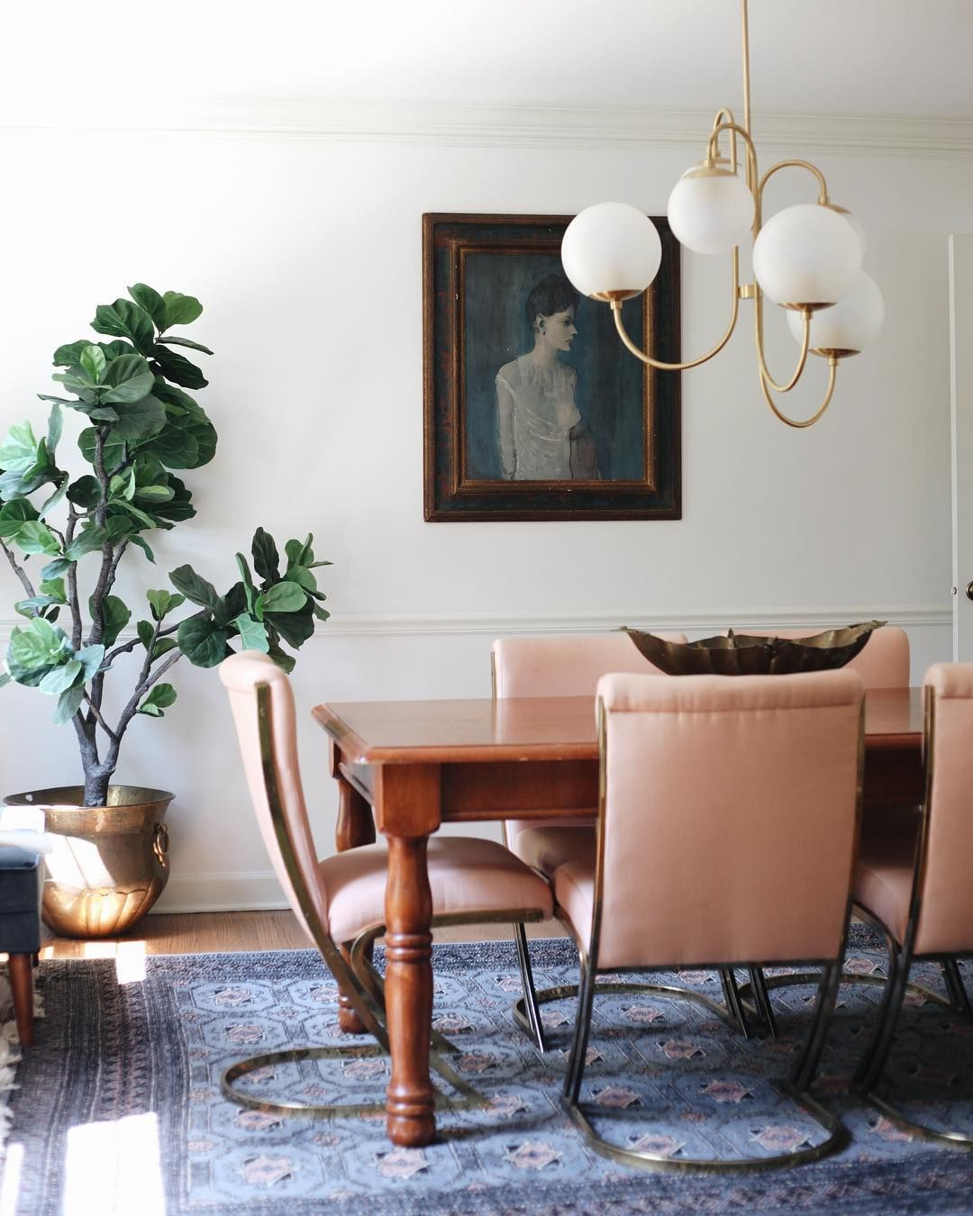 Funky Dining Room Mixes Hollywood Regency Mid Century Modern And Adorable Funky Dining Room Design Ideas