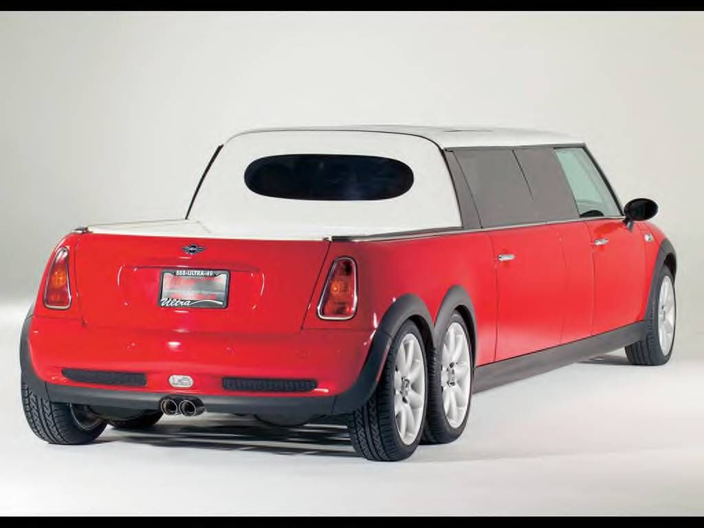 another post under the all things ridiculously awesome it s mini cooper limo pool