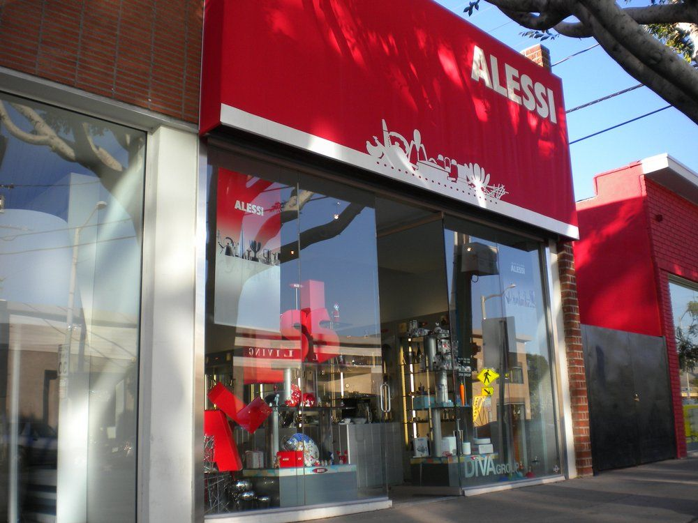 Alessi at DIVA (311 N. Robertson Blvd) has long been at the forefront of innovative and inspired product design - West Hollywood Design District / Designer Camp
