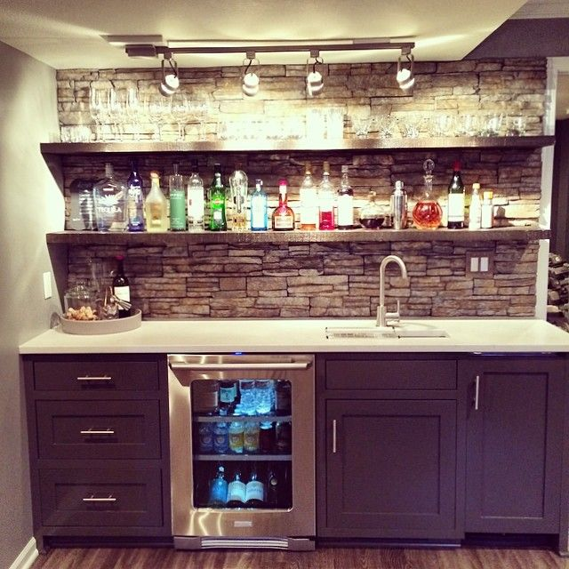 English Pub Home Bar Design: Basement Remodel - Love The Bar!! (With Images)