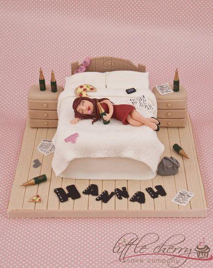 Messy Bedroom Cake - by littlecherry @ CakesDecor.com - cake decorating website