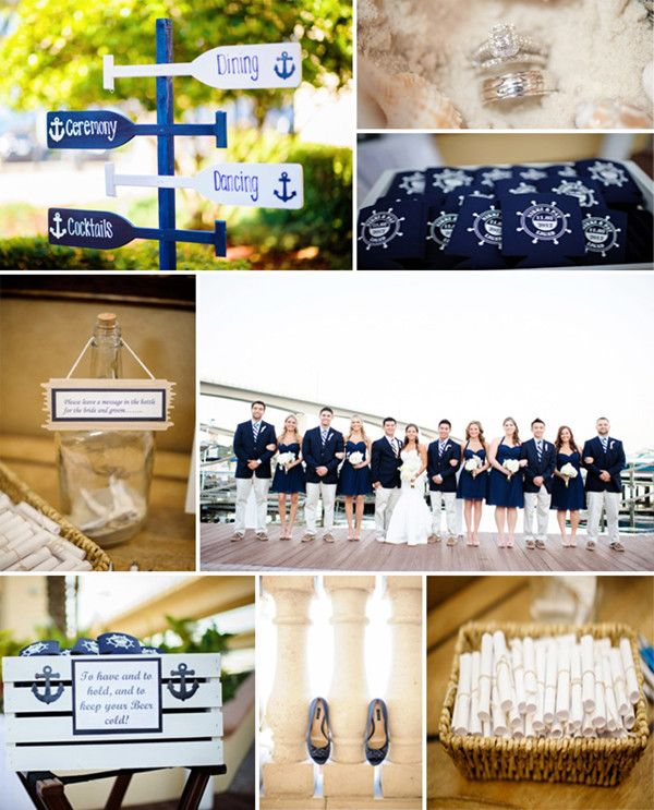 New Wedding Trends Chic Nautical Ideas And Invitations