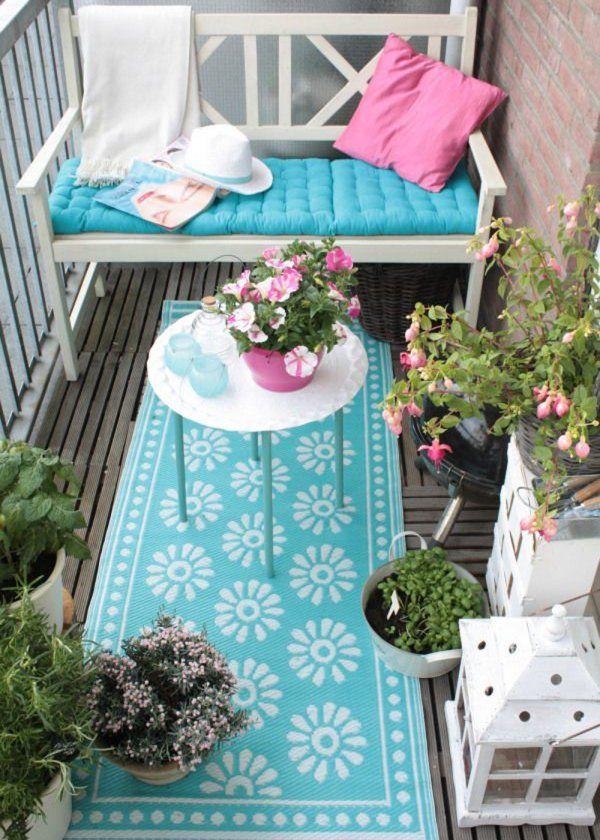 Piccolo balcone: 15 idee per arredarlo con stile | Balconies
