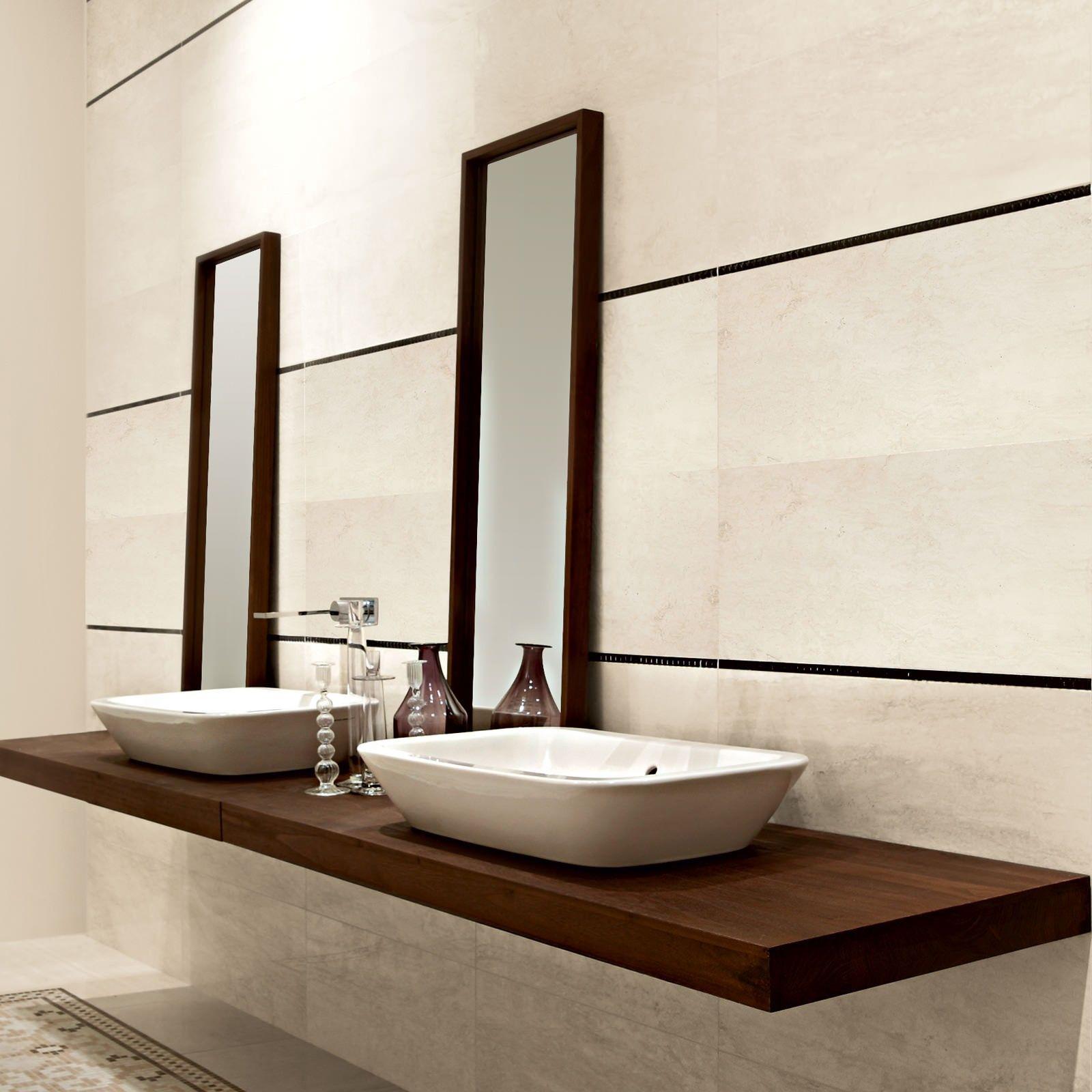Marmo D Bianco 30.5cm x 72.5cm Tile | BH2ndBath | Pinterest ...