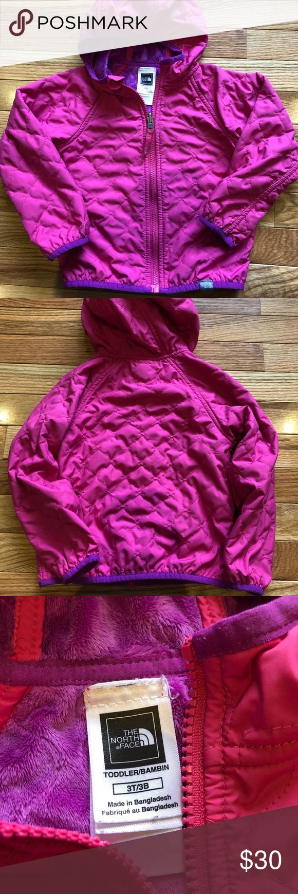 North Face Jacket 3t Vguc Toddler North Face Jacket Jackets Fall Jackets [ 1740 x 580 Pixel ]