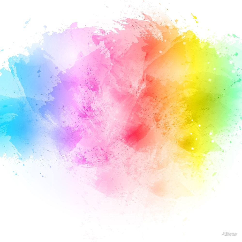 Pin By Abas On Beauty Watercolor Splash Rainbow Abstract Abstract