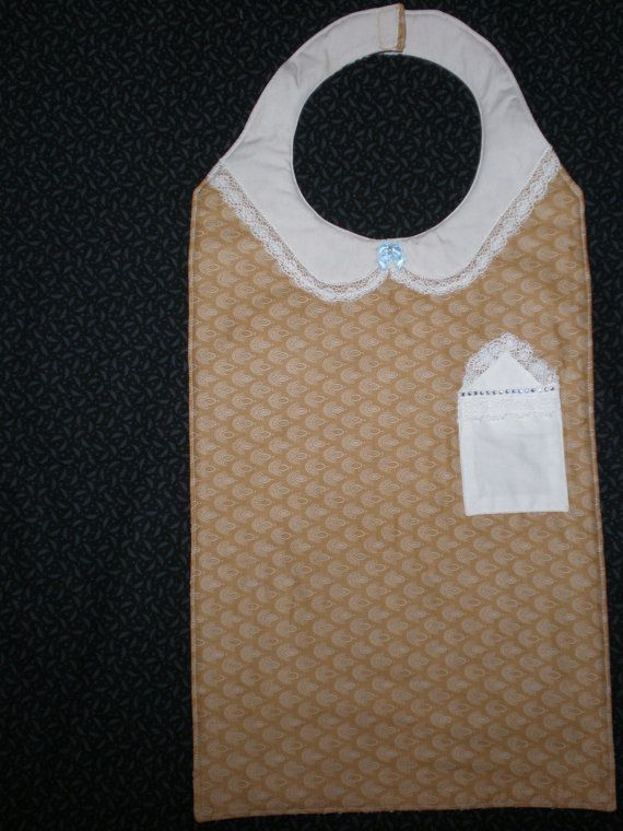 Senior Adult Dignified Bib To Protect Clothing From Spills