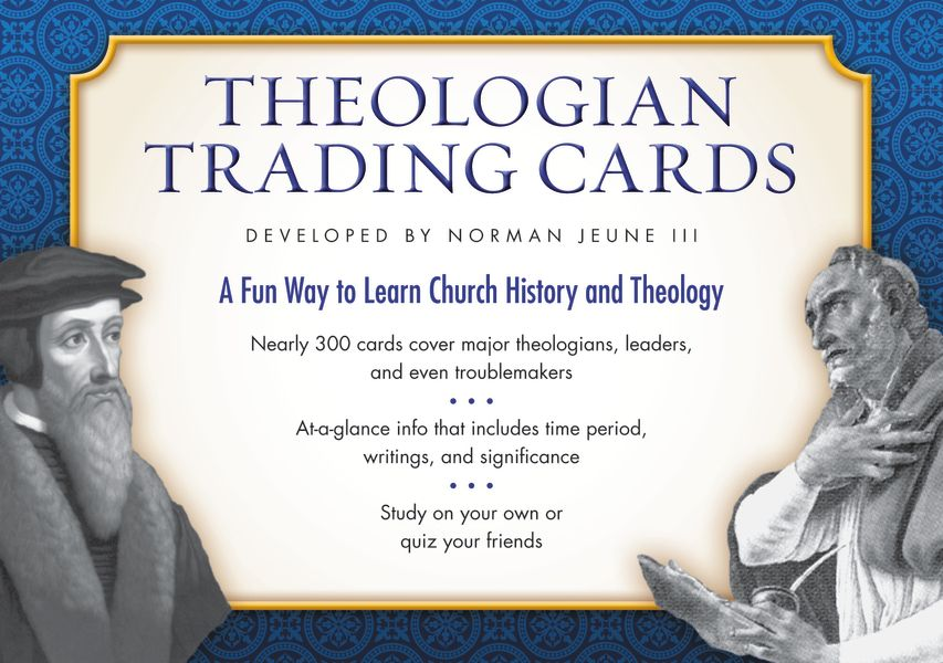 Cards worth collecting theologian trading cards by