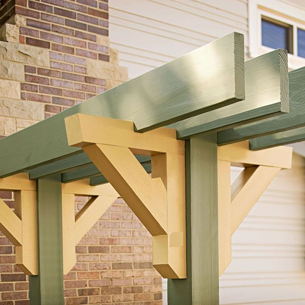 Step By Step Arbor Instructions Exterior And Garden