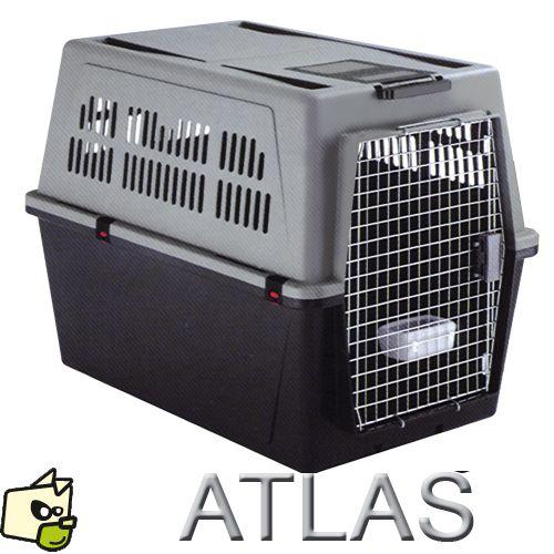 cage de transport pour chien atlas automobile et avion | amstaff