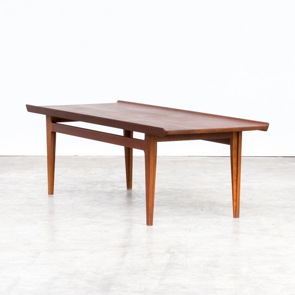 For Sale 50s Finn Juhl Fd532 Teak Coffee Table For France Son Teak Coffee Table Coffee Table Table