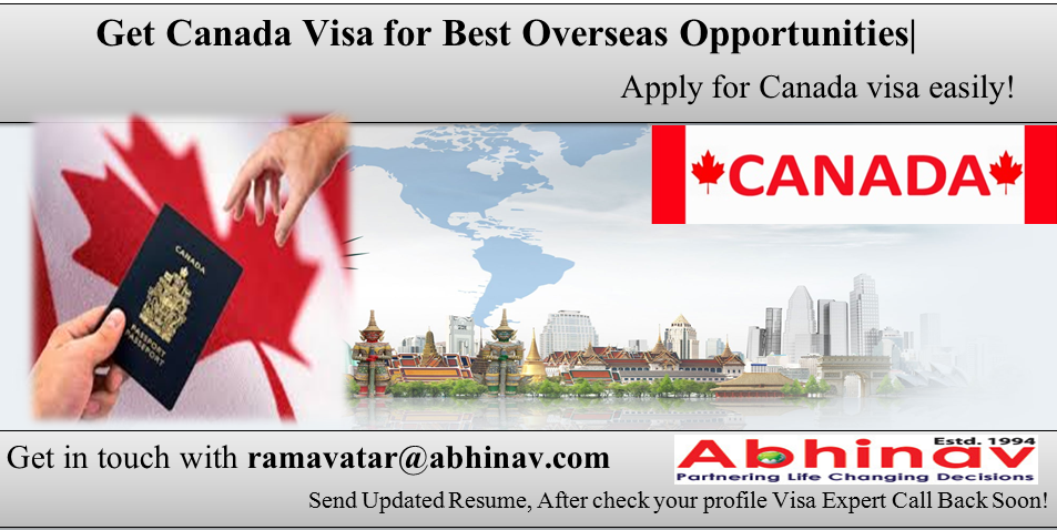 Get Canada Visa for Best Overseas Opportunities from India