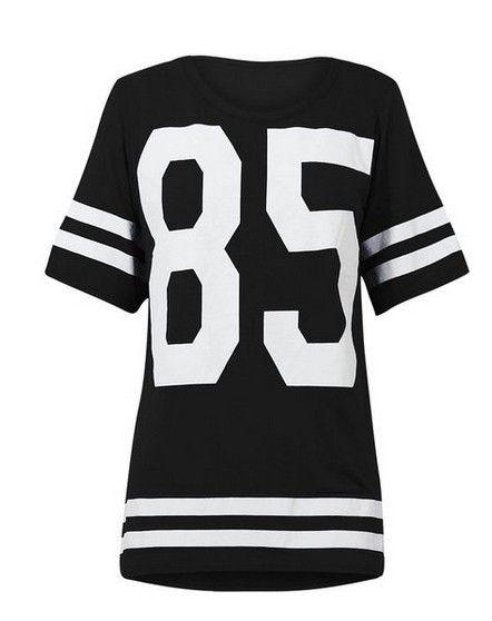 Mini 85 Mulheres Esporte Solto Vestido Patchwork Beisebol 2016 De dYTqBxwaa