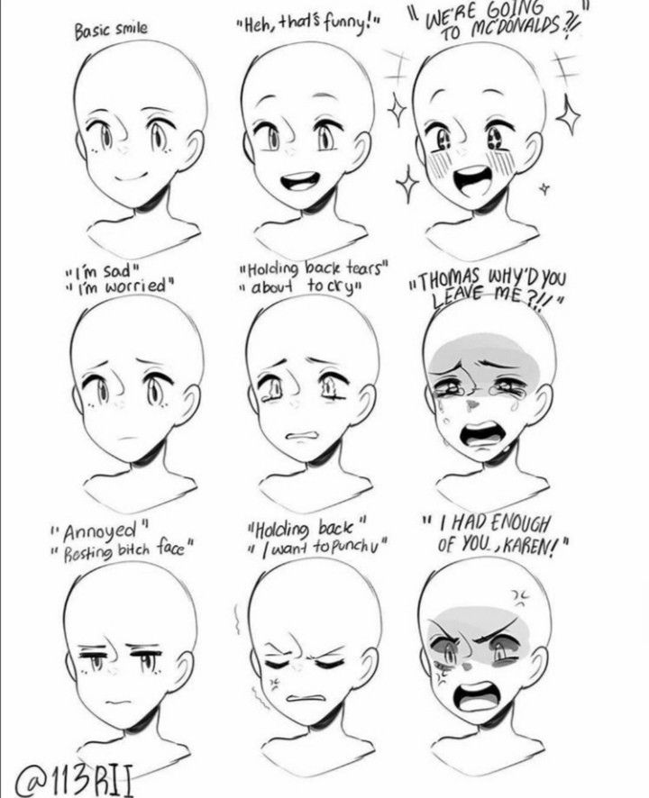 Pin By Velicia Eleonora On Comment Appeler Ce Tableau In 2020 Drawing Face Expressions Drawing Expressions Drawing Tutorial Face