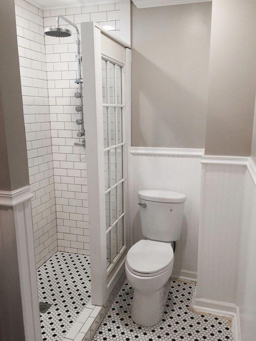 65 Genius Tiny House Bathroom Shower Design Ideas 2019 30 Masnewsclub Vintagebathro In 2020 Inexpensive Bathroom Remodel Bathroom Renovation Diy Tiny House Bathroom