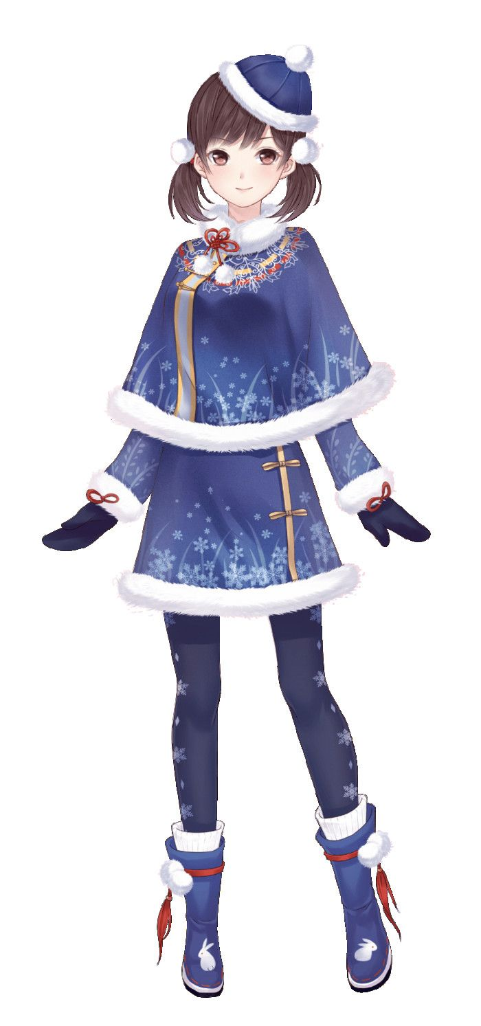 Female Anime Winter Outfits